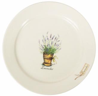 Десертная тарелка из коллекции Lavender Ter Steege