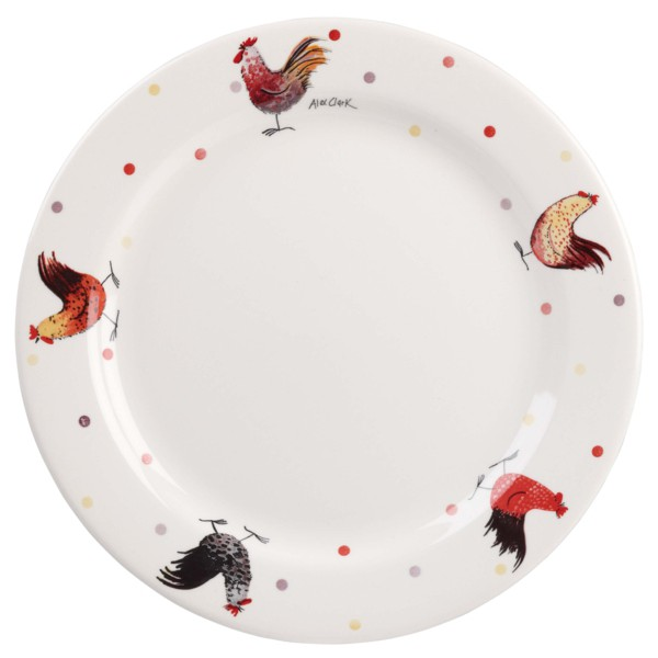 Обеденная тарелка Alex Clark Rooster