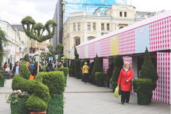 Фестиваль #Московская_весна кузнецкий мост