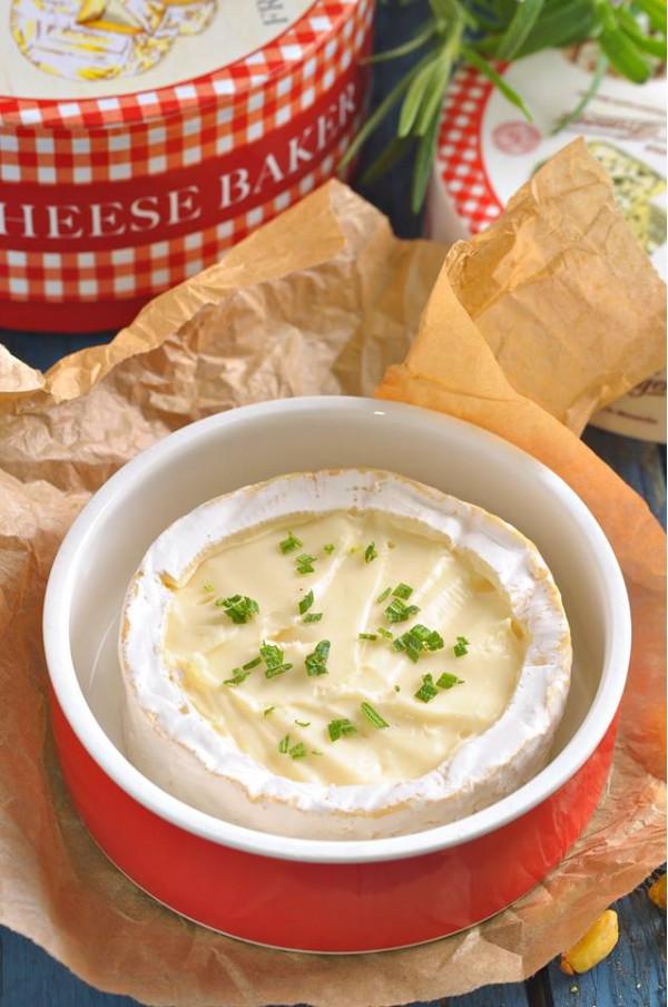 Фарфоровая форма для запекания мягких сыров l Porcelain form baking soft cheeses