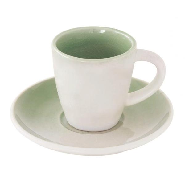 """Чашка с блюдцем для кофе """"GOCCIA"""""""