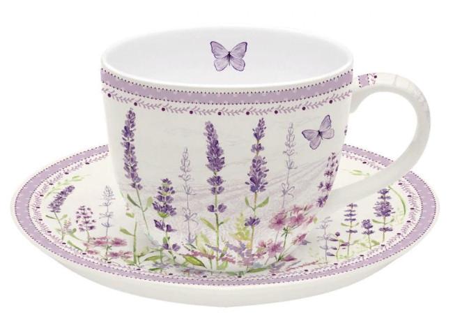 Чайная пара Lavender field