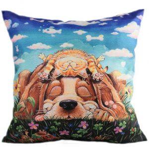 Декоративная подушка Друзья