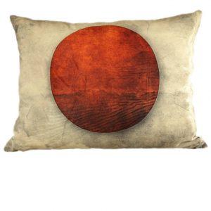 Бархатная подушка флаг Японии