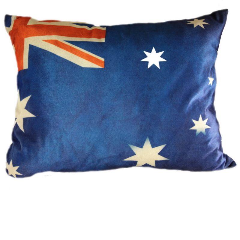 Бархатная подушка флаг Австралии