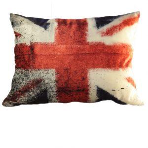 Бархатная подушка Британский флаг