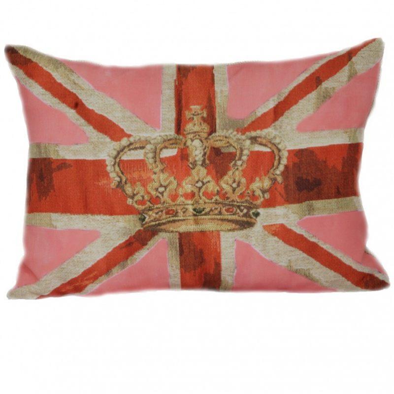 Королевская подушка с британским флагом