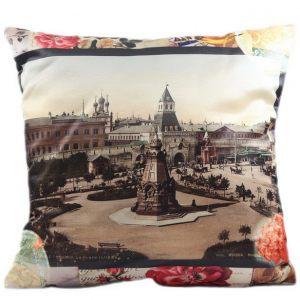 Декоративная подушка Старый город