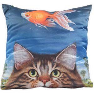 Декоративная подушка Охотник-Рыболов