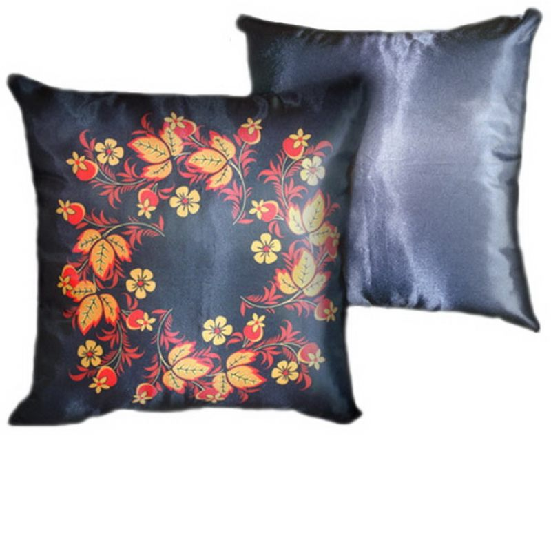 Декоративная подушка Хохлома