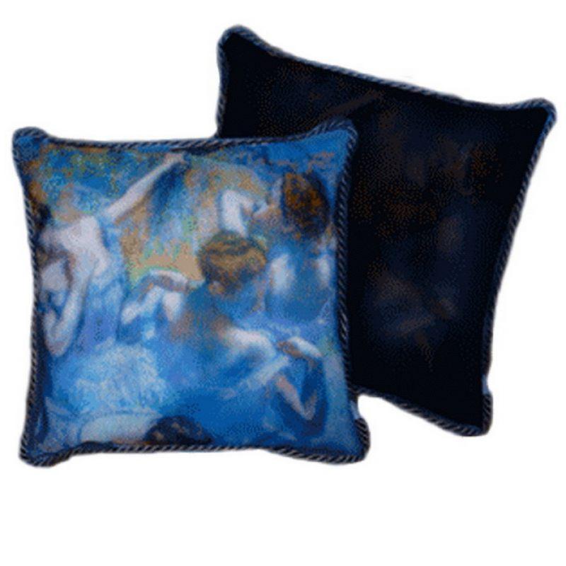 Декоративная подушка Балерины в синем