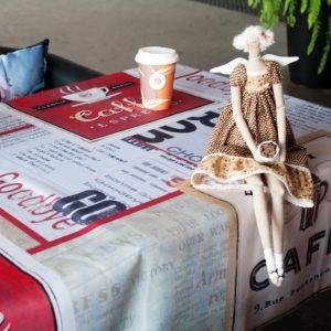 Скатерть Cafe