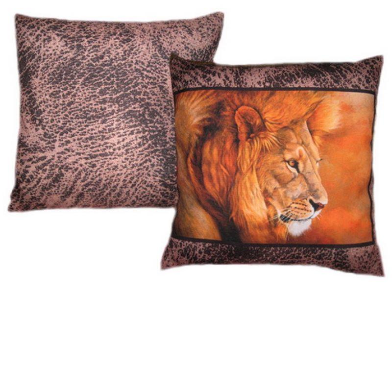 Декоративная подушка Лев