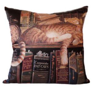 Декоративная подушка Котик ленивец