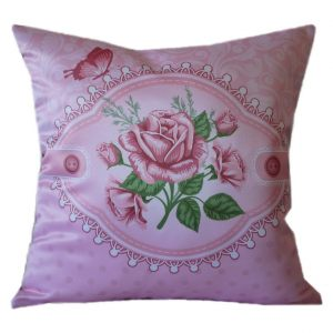 Подушка шебби rose 4
