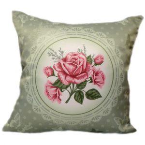 Подушка шебби rose 3