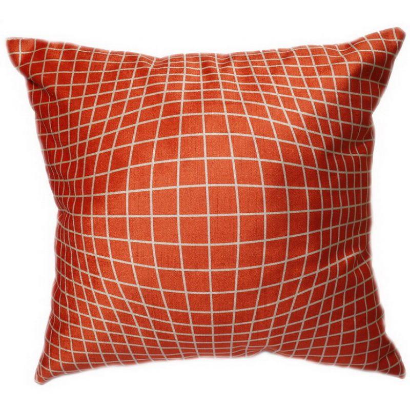 Подушка Геометрия оранж