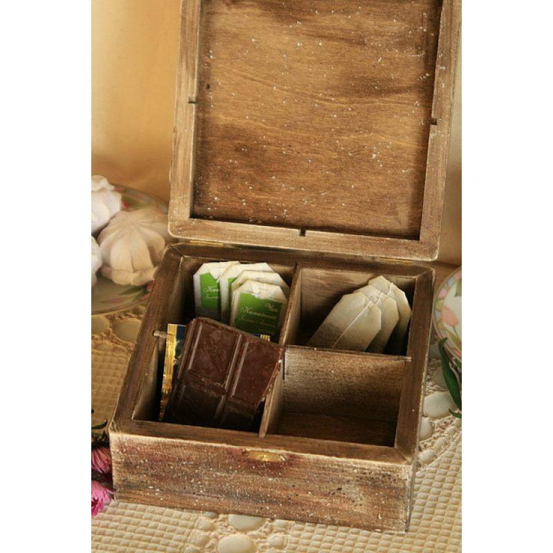 """Короб-шкатулка для чайных пакетиков """"Римские каникулы"""""""