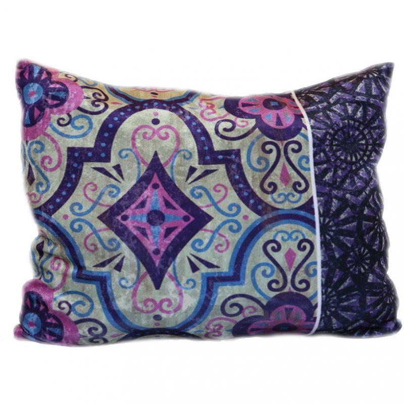 Бархатная подушка Фиолетик