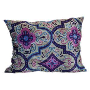 Бархатная подушка Фиолет
