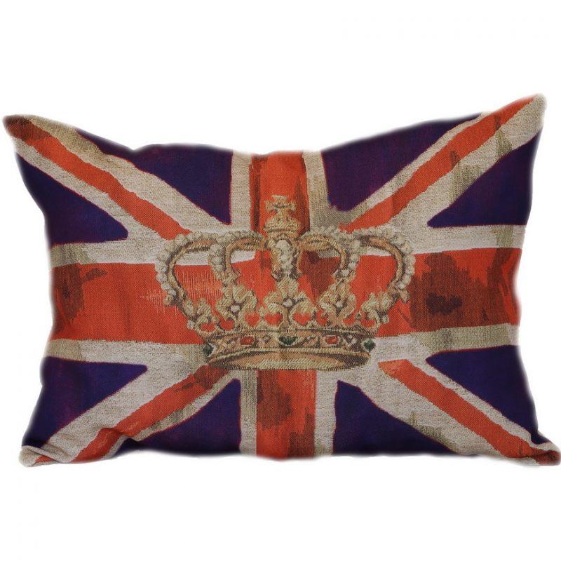Британский флаг в фиолетовом