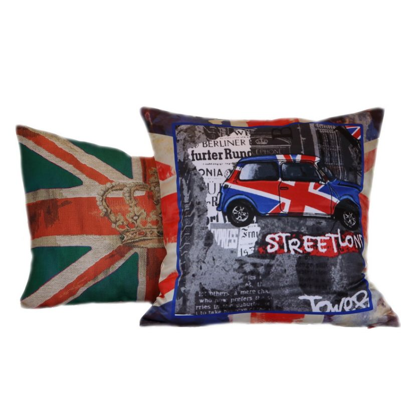 Декоративная подушка Лондон