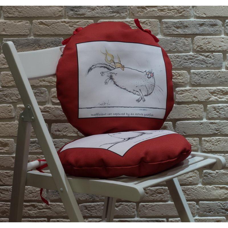 Веселые сидушки на стулья