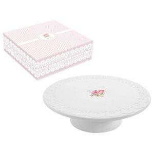 Блюдо для торта на ножке Уютный Дом-Розы
