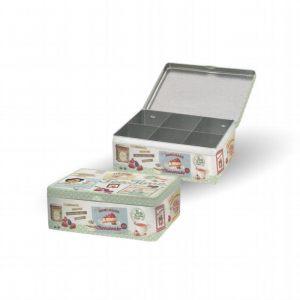 Коробка для чайных пакетиков серия Винтаж
