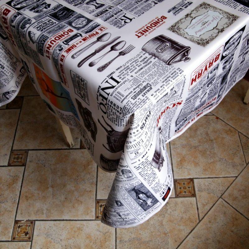 Скатерть Il Giornale
