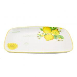 Блюдо прямоугольное Лимоны