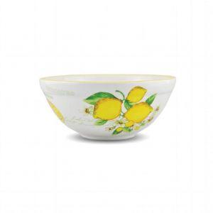Салатник глубокий Лимоны 20 см
