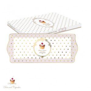 Блюдо прямоугольное Элеганс-Пирожные