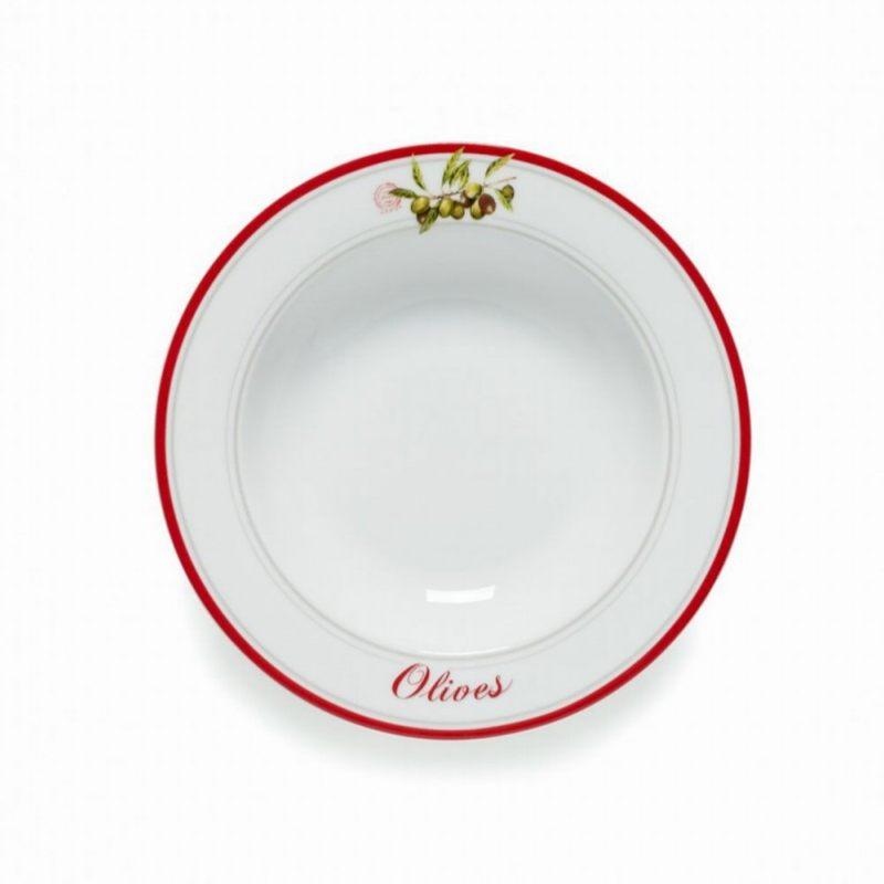 Тарелка суповая Оливки