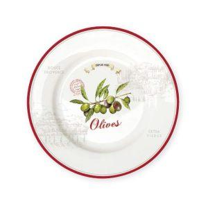 Тарелка обеденная Оливки