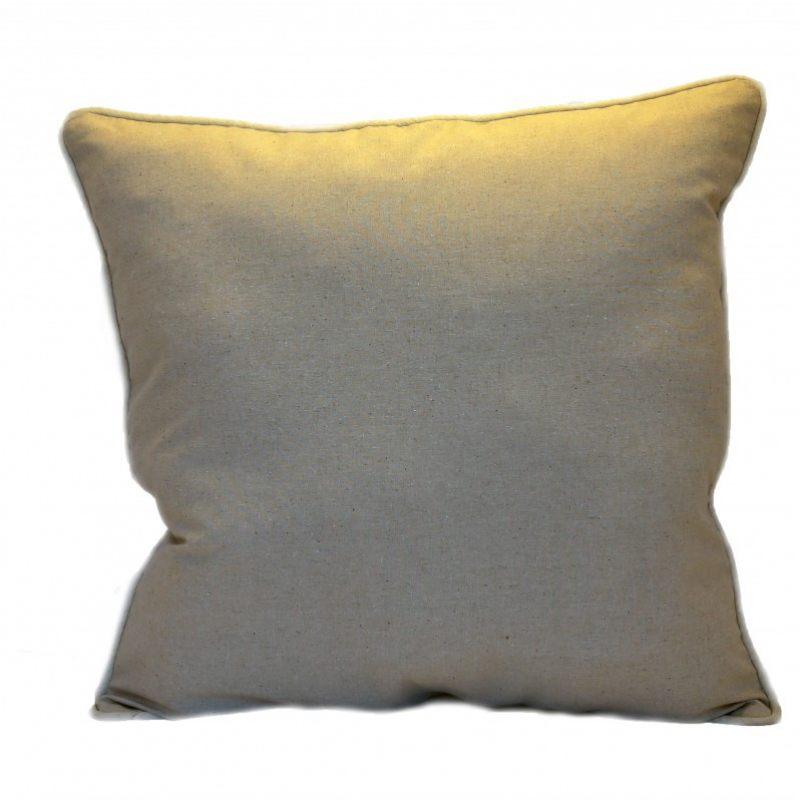 Льняная подушка  Кувшинки