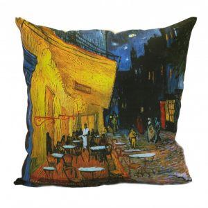 Льняная подушка  Ночное кафе