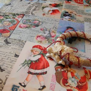 Скатерть Рождество