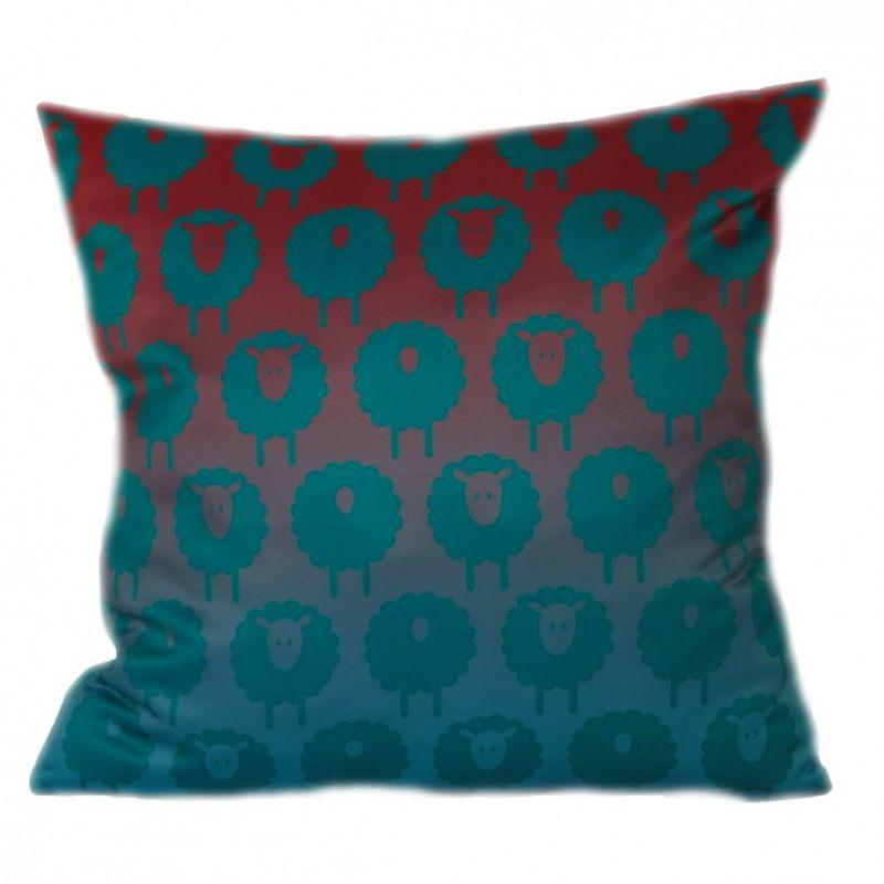 Декоративная подушка Овечка зимняя