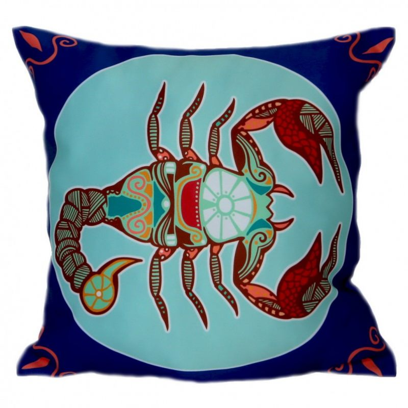 Подушка со знаком зодиака Скорпион