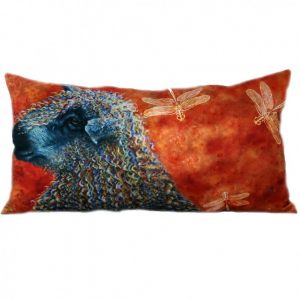 Длинная подушка Овечка и стрекозы