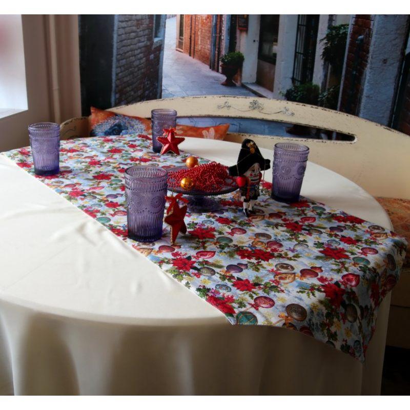 Дорожка на круглый стол купить портьерную ткань в розницу интернет магазин
