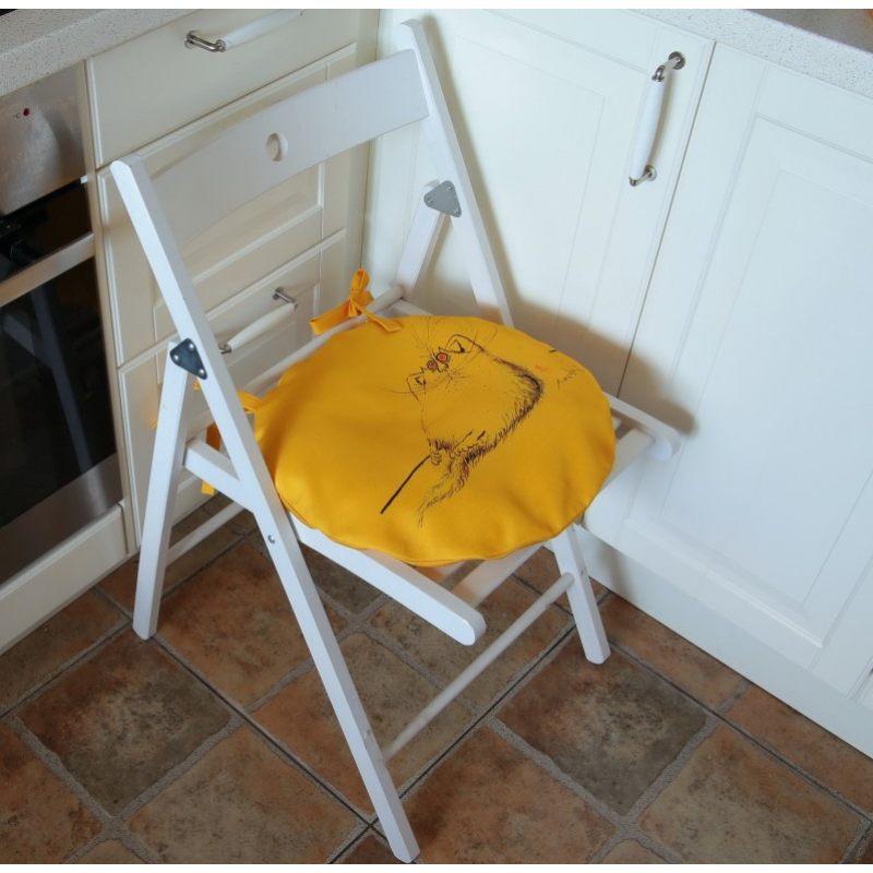 Сидушка Желтый кот 1
