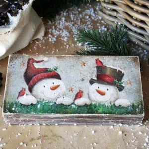 Купюрница Снеговики