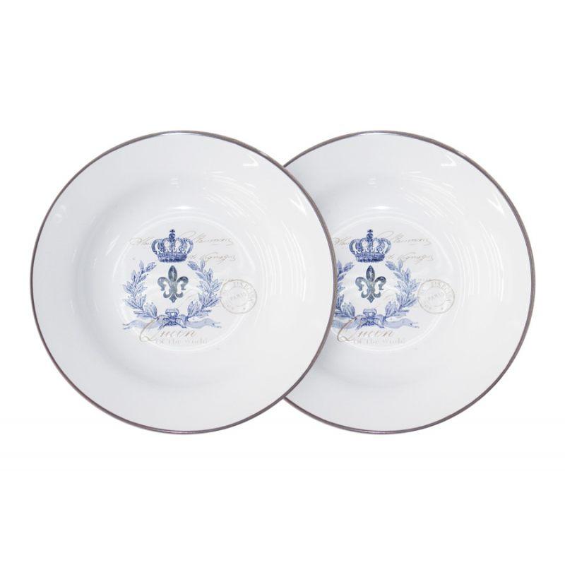 Набор из 2-х суповых тарелок Королевский