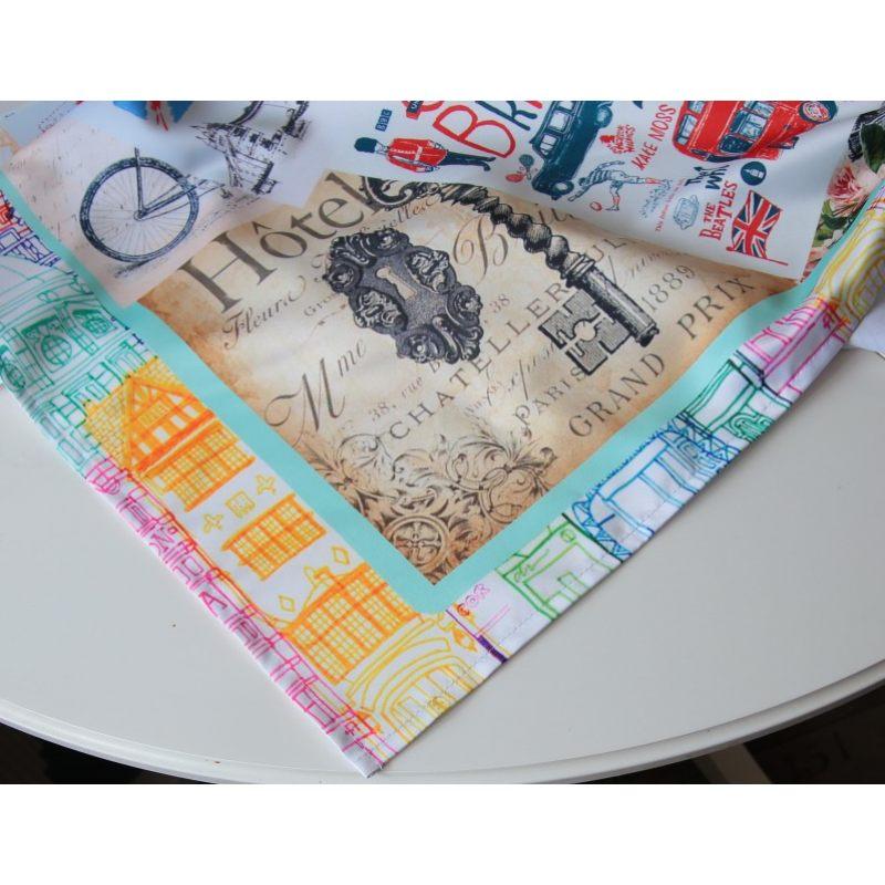 Дизайнерская скатерть Я уеду жить в Лондон