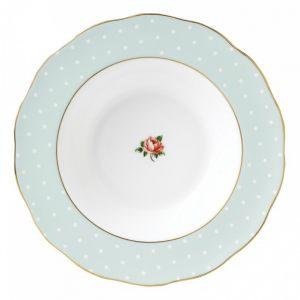 Суповая тарелка Polka Rose 24 см