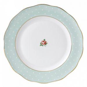 Обеденная тарелка Polka Rose 27 см