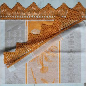 Кухонное льняное полотенце Одуванчик