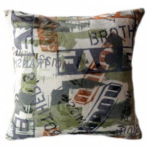 Подушка из шерсти Хаки